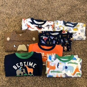 Carter's 24 month boy's pajama sets